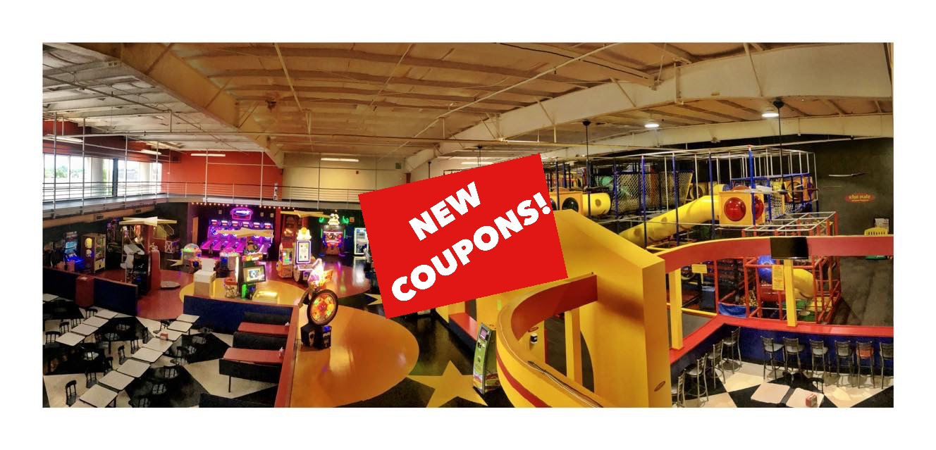 March Madness at Kids Place (or new coupons)!